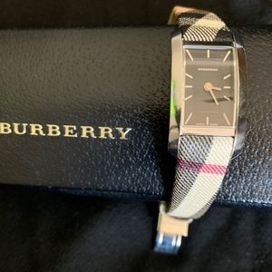 Burberry Swiss Quartz Check Strap Watch